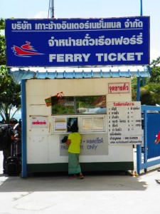 Koh Chang Ferry Ticket Office