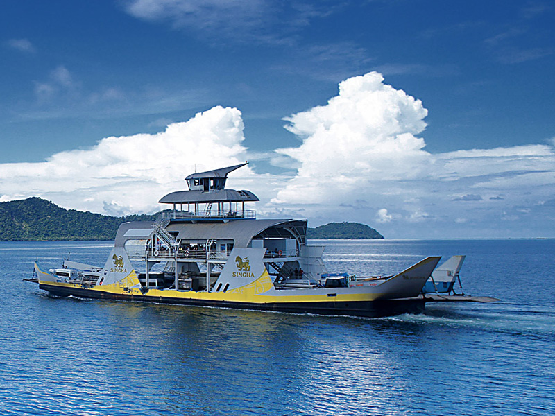 Ferry Koh Chang Timetable for boats to & from Ao Thammachat